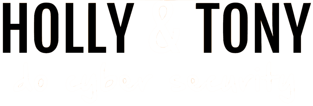 Holly and Tony Do Cyber Security transparent logo